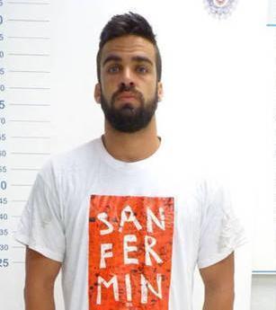 El guardia civil de La Manada Antonio Manuel Guerrero, condenado junto al resto a 9 años de prisión.