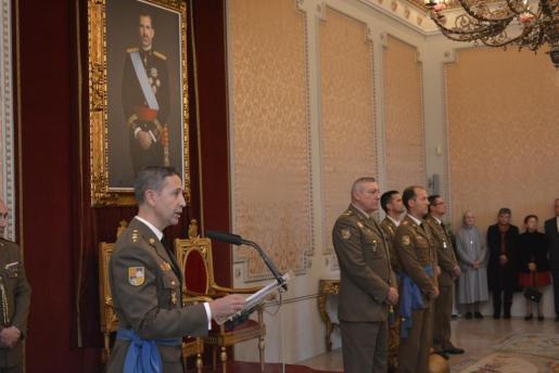 Coronel Juan Billón, jefe del Estado Mayor.