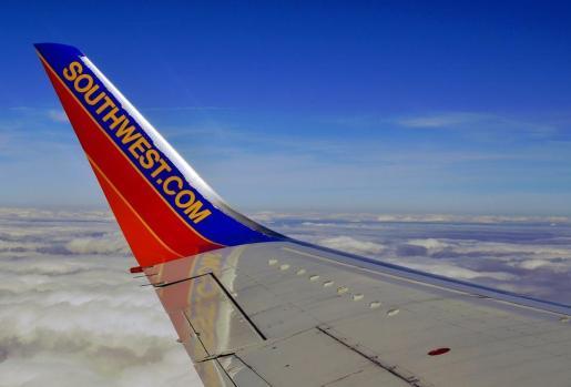 Un avión de Southwest Airlines que volaba de Seattle a Dallas trasportaba el corazón.