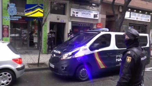 Operación policial contra los responsables de una web neonazi.