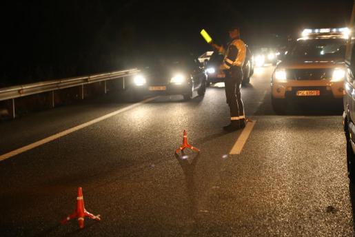 Los hechos han tenido lugar a las cinco de la madrugada en la carretera de Manacor.