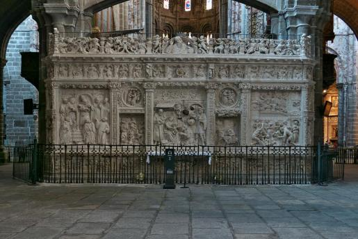 Imagen de la catedral de Ávila.