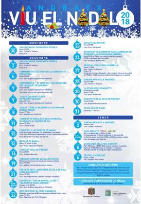 Andratx tiene programadas diversas actividades para Navidad.