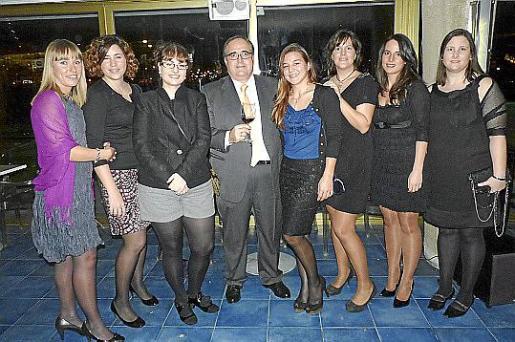 Raquel Roca, Gisela Mesquida, Ana Mediavilla, José Manuel de la Torre, Caterina Amengual, Isabel do Cavo, María Pinto y Beatriz Goula.