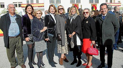 Francisco Bauzá, María José Bauzá, Rosa María Martín, Margalida Durán, Águeda Ropero, Gema Muñoz, Isabel Got y Toni Fuster.