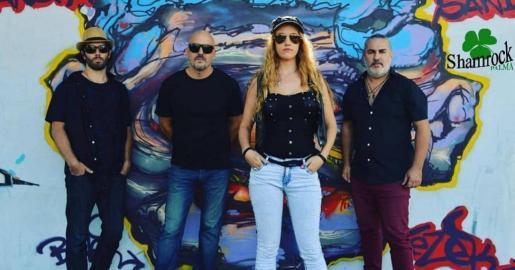 Los cuatro integrantes de Funky Kings.
