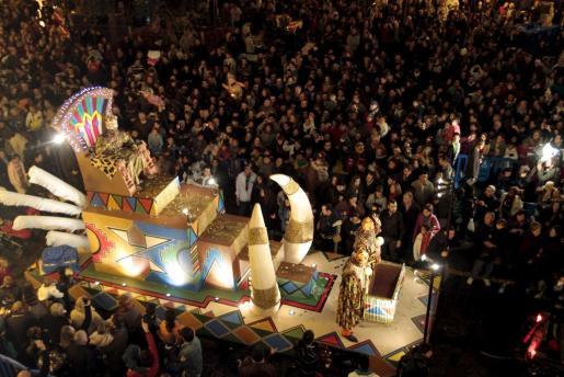 Cabalgata de los Reyes Magos en Palma.