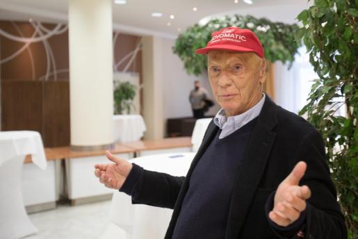 El excampeón austríaco de Fórmula 1 Niki Lauda.