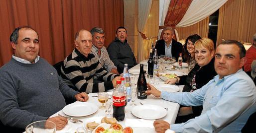 Pedro Mestre, Rafel Gaià, Guillem Galmés, Tomeu Català, Josep Melià, Noelia Llull, Bárbara Mieras y Xisco Batxà.