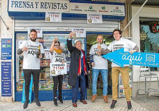 Imagen del Gordo de 2017, que esquivó un año más a Baleares.