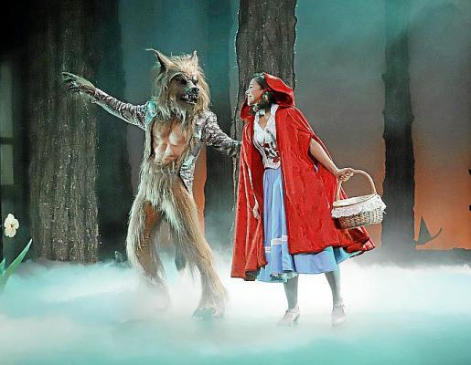 La obra de la Caperucita es una de las propuestas infantiles de esta Navidad.