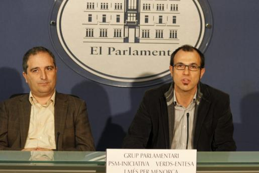 Antoni Alorda y Biel Barceló, en una imagen de archivo.