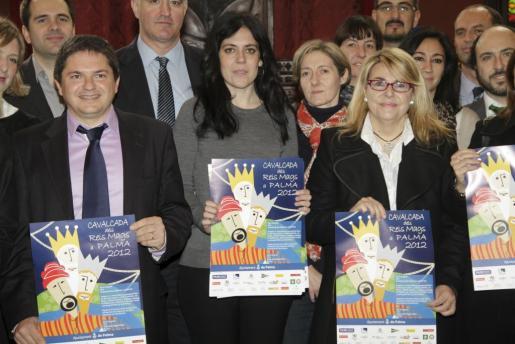 La teniente de alcalde de Bienestar Social, Inmigración y Participación Ciudadana del Ayuntamiento de Palma, Sandra Fernández, ha presentado esta mañana la cabalgata.