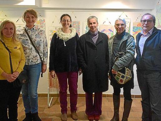 Inna Zhanovskaya, Irina Pesnikevich, Paula Aguiló, Laura Girotto, Leila Abrahao y Miquel Ángel Benito.