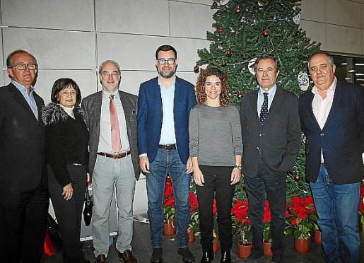 José Escalas, María José Guerrero, Ramón Morey, Antoni Noguera, Rosario Sánchez, Juan Gual de Torrella y Antoni Mercant.