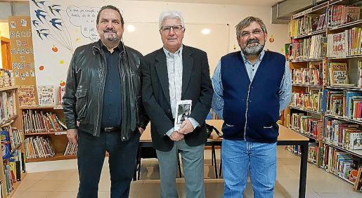 Guillem Rosselló, Joan Guasp y Rafel Llobet.