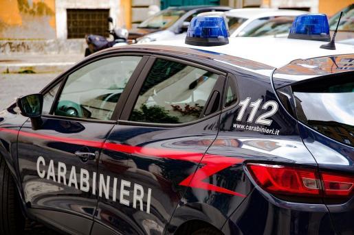Un vehículo de la policía italiana.