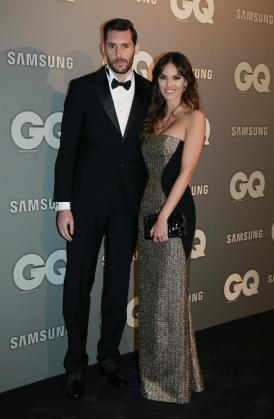 El jugador de baloncesto Rudy Fernández y la modelo Helen Lindes.