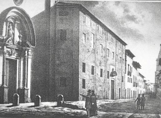Imagen antigua de la calle Sant Miquel
