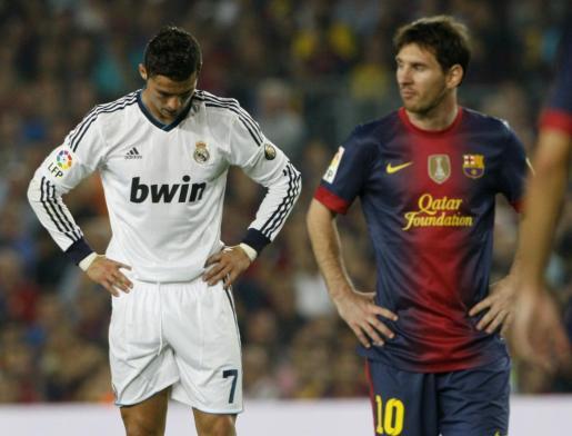 Los dos mejores jugadores del mundo de la década compartieron competencia durante varios años, hasta que el astro portugués dio el salto al Calcio italiano.