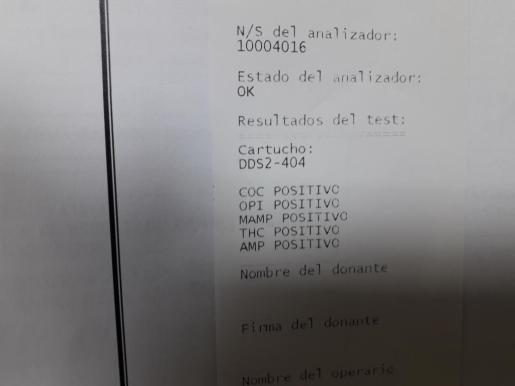 Detenido un conductor tras dar positivo en cinco sustancias estupefacientes en Ibiza.