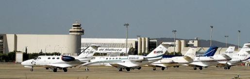 El incidente ha tenido lugar en la zona de avionetas del Aeropuerto de Palma.