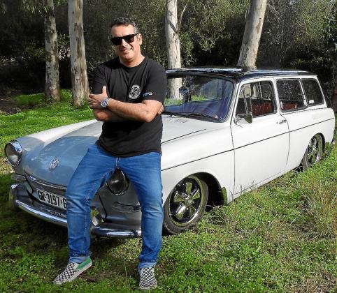 David Alemany es el propietario de este interesante Volkswagen Variant de 1965 que compró hace tres años en Barcelona