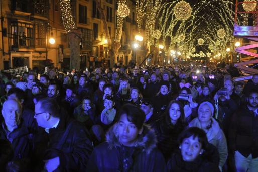 Palma se echó a la calle para despedir 2018 por todo lo alto y recibir el nuevo año de la mejor manera posible.