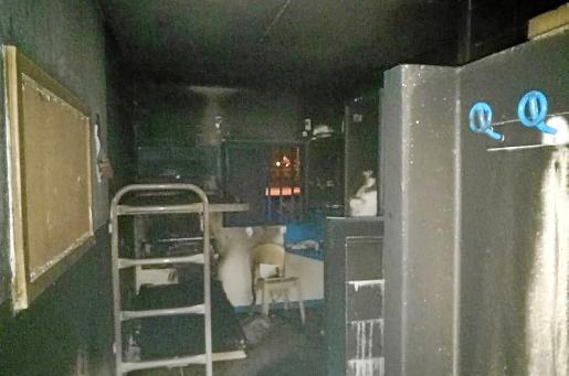 La celda del preso quedó calcinada tras el incendio del 28 de diciembre.