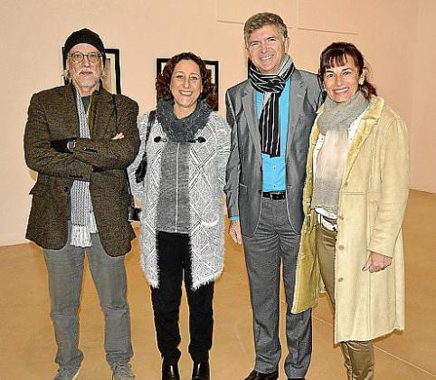 Pepe Cañabate, Maritxé Fernández, José Fernández y Ana Rodríguez.