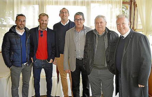 Tano Rosselló, Tomeu Rosselló, Isidro Bibiloni, José Lázaro, Jaime Rosselló y Salvador Correa.