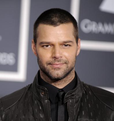 El músico británico puertorriqueño Ricky Martin.