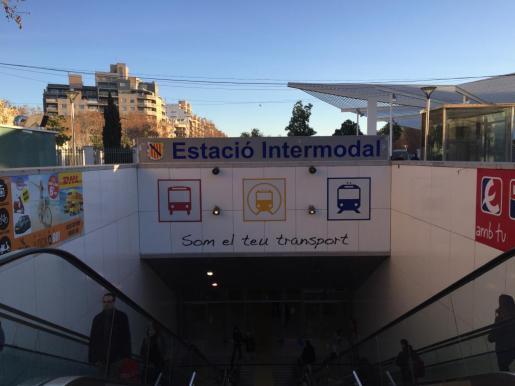 Los hechos sucedieron en la estación intermodal de Palma.