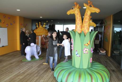 Imagen del nuevo espacio infantil en la zona de Pediatría del Hospital de Son Espases.