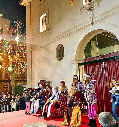 Imagen de archivo de una Cabalgata de Reyes en la Part Forana.