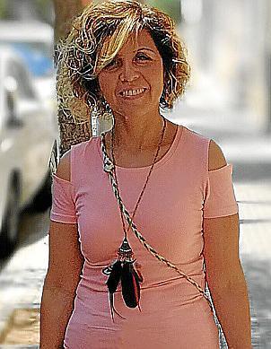 Shirley Siles ha sido la presidenta de las asociación de camareras de piso de Baleares
