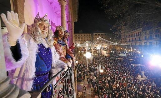 Los Reyes Magos recorrerán este sábado las calles de Palma.