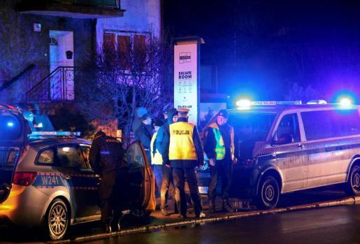 El incendio se produjo en una 'escape room' en Polinia.