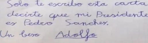 El PP borra un tuit con un vídeo en el que un niño deseaba la muerte de Pedro Sánchez.