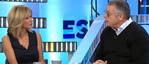 El exfutbolista, en su entrevista con Susanna Griso.