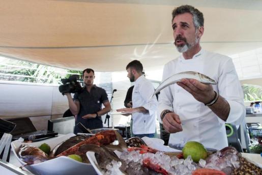 El chef Pepe Solla.
