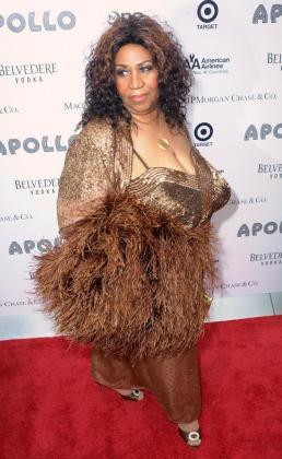 Fotografía de archivo del 14 de junio de 2010 que muestra a la artista estadounidense Aretha Franklin.