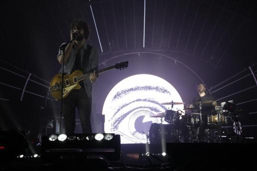 Izal durante su concierto en el Mallorca Live Festival.