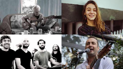 El Parra, Kiko Veneno, Suu y Zelisko actúan en la Plaça de la Reina dentro del programa de la Revetla de Sant Sebastià 2019.