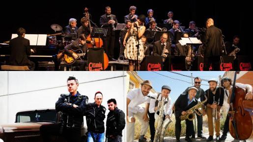 Hi Hats Swing, Glissando Big Band y Black Cats forman el cartel musical del concierto de la Revetla de Sant Sebastià en la Plaça de l'Olivar.