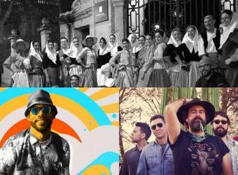 Sant Sebastià Palma 2019: Concierto de 'ball de bot' y folk en la Plaça Major