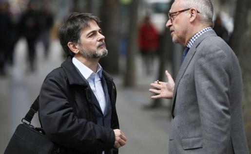 Oriol Pujol, a la izquierda, con su abogado, en una imagen de archivo.
