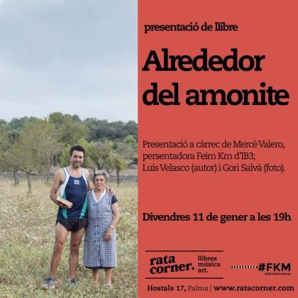 Luis Velasco presenta el libro 'Alrededor del amonite' en Rata Corner.