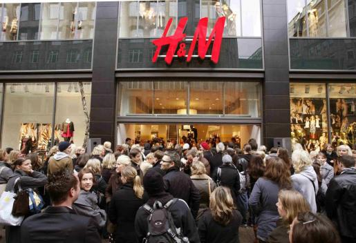 Imagen de una tienda de H&M en Alemania.