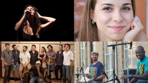 Masé Jara Quintet, One Pac & Fellows, Júlia Colom y Nayla Yenkis & The Funkers actúan en Sant Sebastià, en la Plaça de Cort.